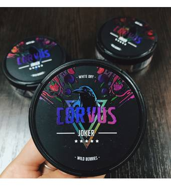 Табак Corvus Joker Wild Berries купить в розницу