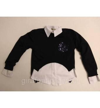 Блузка школьная 2-ка для девочек 10-13 лет