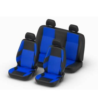 Чохол ZE - bra для сидінь авто Renault Sandero Синій