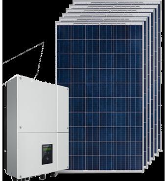 Мережева сонячна електростанція 20 кВт на СБ Longi Solar LR6-72PE-435M