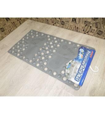 Антискользящий коврик на присосках в ванную