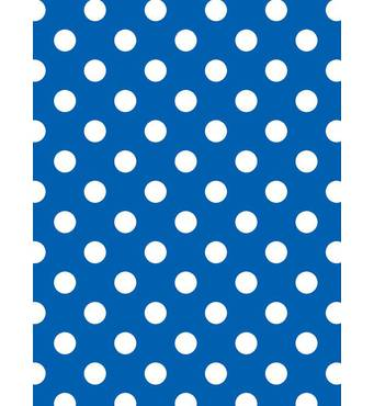 """Подарунковий папір для упаковки """"Горох на синьому"""", 5 шт/уп"""