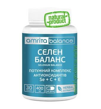 Селен Баланс, 30 капс. по 400 мг