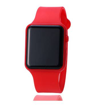 Часы ABF красные W359