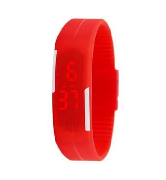 Часы ABF красные W349