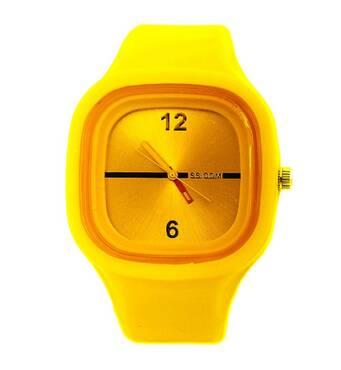Часы ABF желтые W367