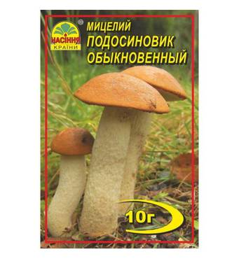 Міцелій гриба Підосиновик звичайний, 10 гр
