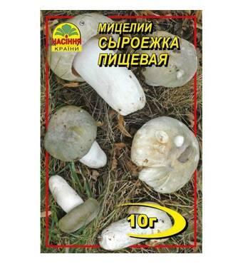 Міцелій гриба Сироїжка, 10 гр