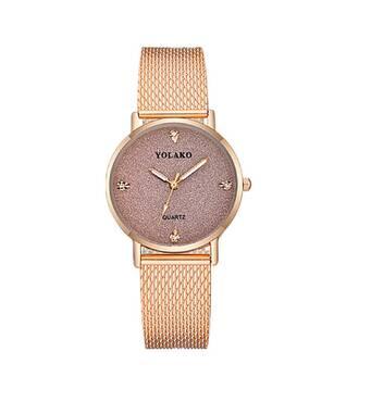 Часы YOLAKO золотистые W421