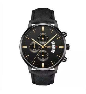 Часы VOSHT черные W436