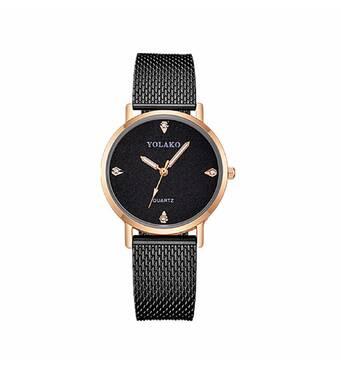 Часы YOLAKO черные W420