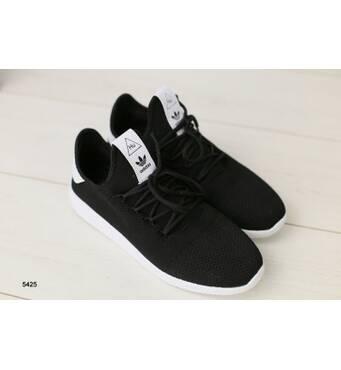 Мужские кроссовки черные в сеточку 42
