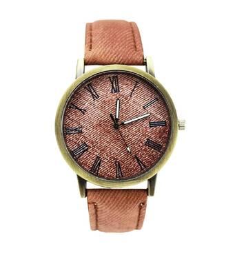 Часы ABF коричневые W490