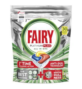 Капсули для посудомийної машини Fairy Platinum Plus All In One 30 шт Новинка