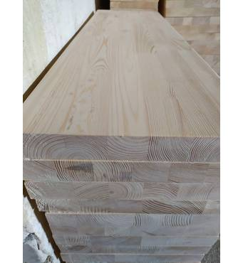 Щит клеєний з сосни, товщина 30 мм