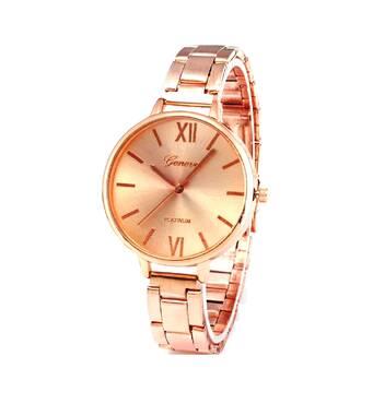 Часы GENEVA золотистые W095