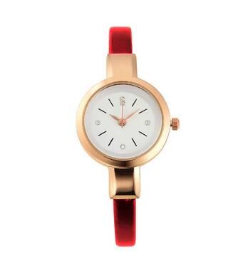 Часы ABF бордовые W101