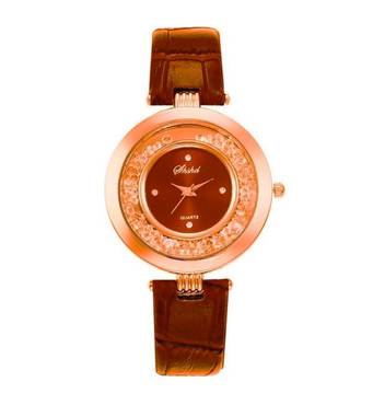 Часы ABF коричневые W074