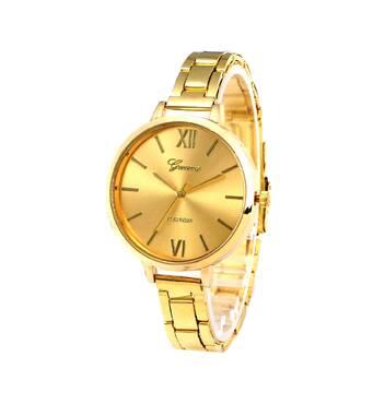 Часы GENEVA золотистые W094