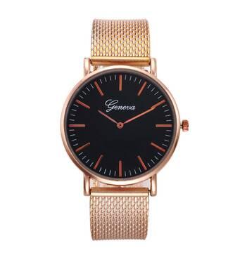 Часы GENEVA золотистые W102