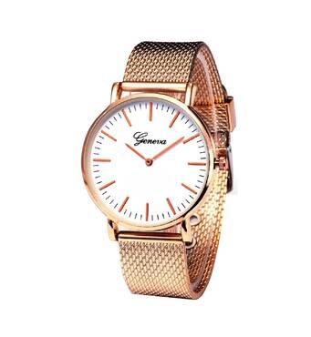 Часы GENEVA золотистые W104A