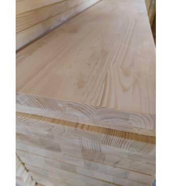 Щит клееный из сосны, толщина 40 мм