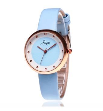 Часы ABF голубые W145