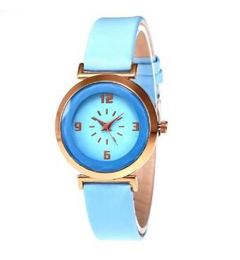 Часы ABF голубые W170