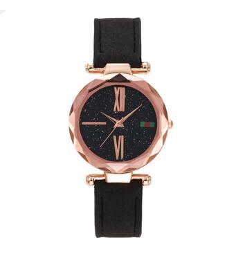Часы ABF черные W143