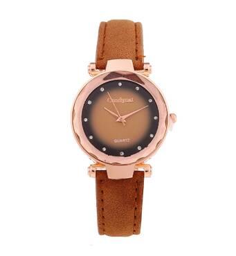 Часы ABF коричневые W139