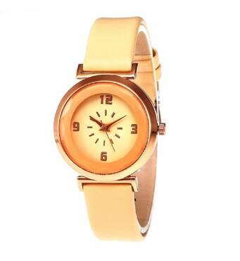 Часы ABF бежевые W171