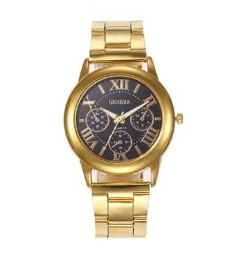 Часы GENEVA золотистые W200