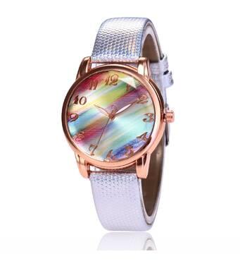 Часы ABF серо-серебристые W217