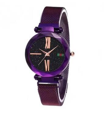 Часы ABF фиолетовые W195