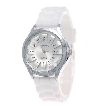 Часы ABF белые W240