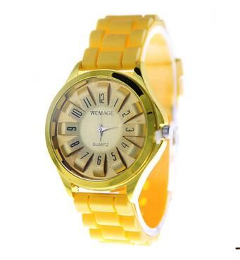 Часы ABF желтые W241