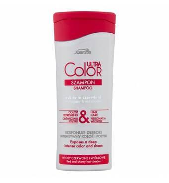 Шампунь для волосся Joanna Ultra Color System червоний відтінок, 200 мл, Польща