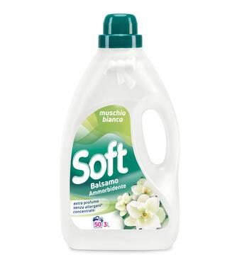 Кондиционер-ополаскиватель  SOFT Muschio Bianco 3л / 50пр /