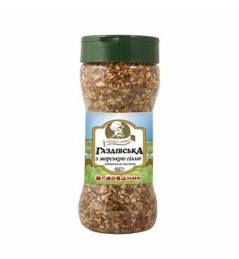 Приправа універсальна з овочів Огородник Газдівська з морською сіллю 300 г