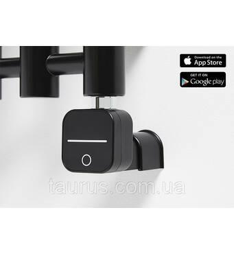 ТЭН HeatQ NEX 1.0 MS Black : регулятор 30-60С  таймер до 8ч.  Bluetooth програматор до 7 днів   маскування