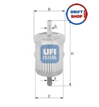 Паливний фільтр ВАЗ 2101-2107, UFI