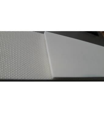 Стрічка біла харчова поліуретанова PU (ПУ) UPRO 1/7 W-G-0,7 мм