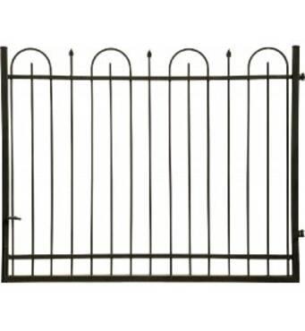 Ковані ворота Франциска 4000*1500