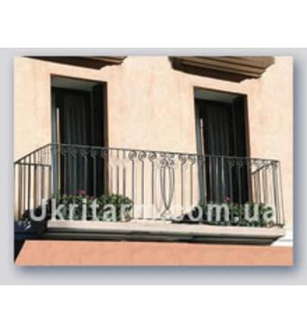 Ковані балконні огородження