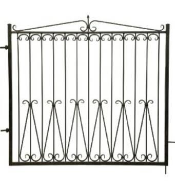 Ковані ворота Класик 4000*1700