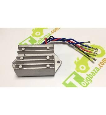 TR - Реле зарядки мототрактора (4выхода)