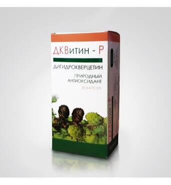 ДКВитин P - природный антиоксидант дигидрокверцетин