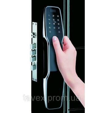 Замок електронний біометричний автоматичний дверний F8