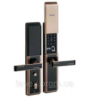 Замок з біометричним доступом для вхідних дверей  F6