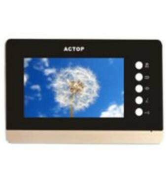 """Видеопереговорное устройство сенсорное резистивное экран 7"""" физические кнопки"""